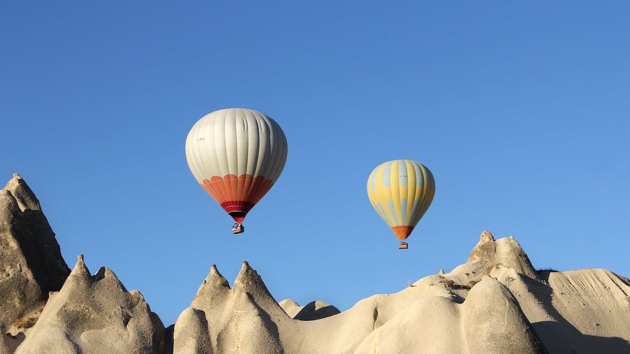 ballonger, eventyr, fjell