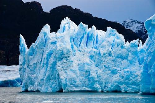 Antartik, buz, buz dağı, buzul içeren Ücretsiz stok fotoğraf