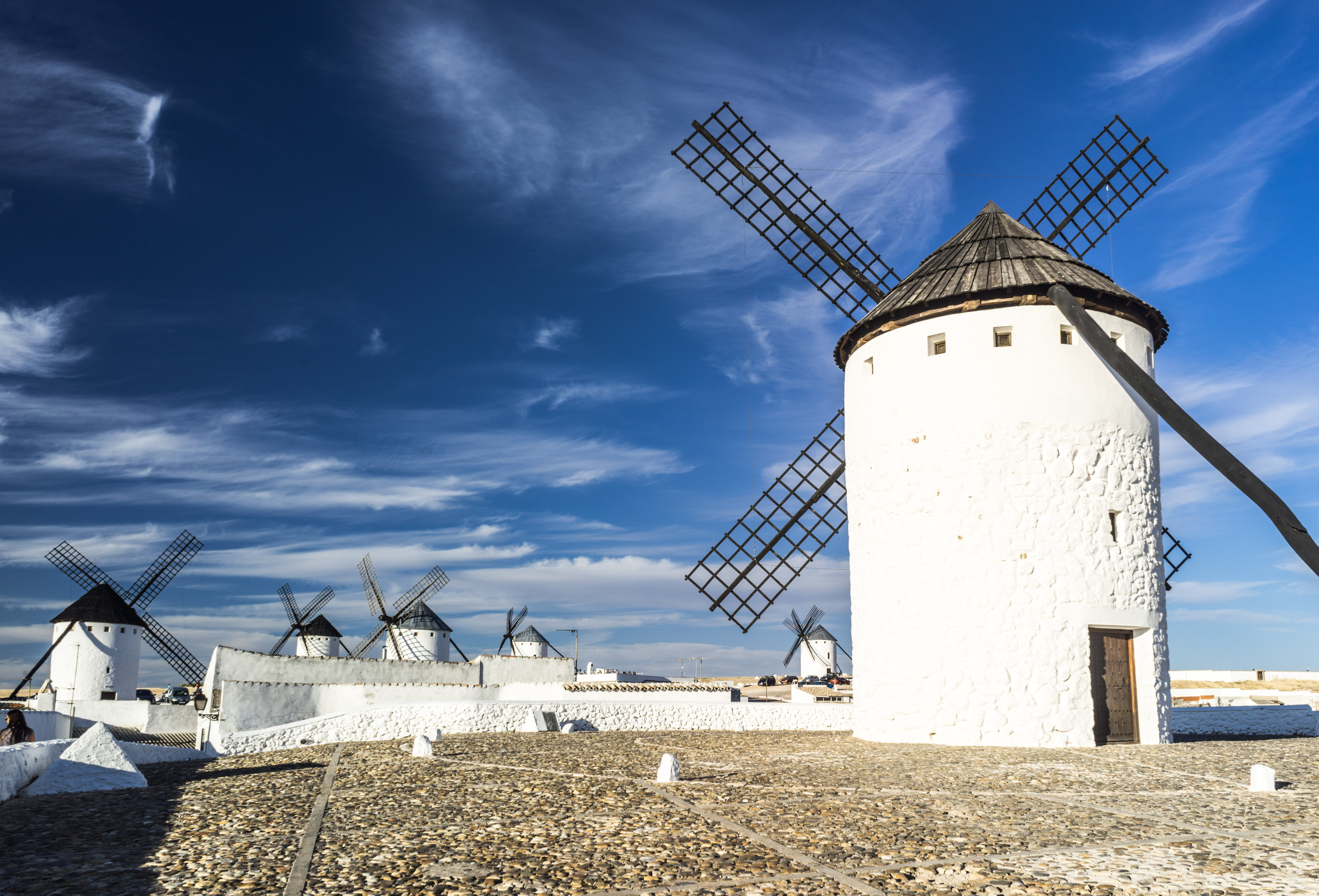 White Windmill