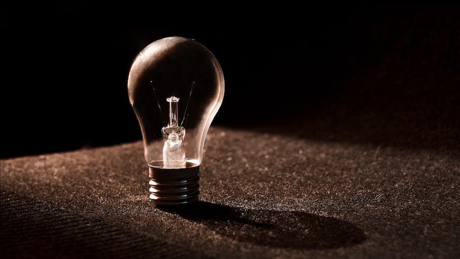 blur, bulb, close-up