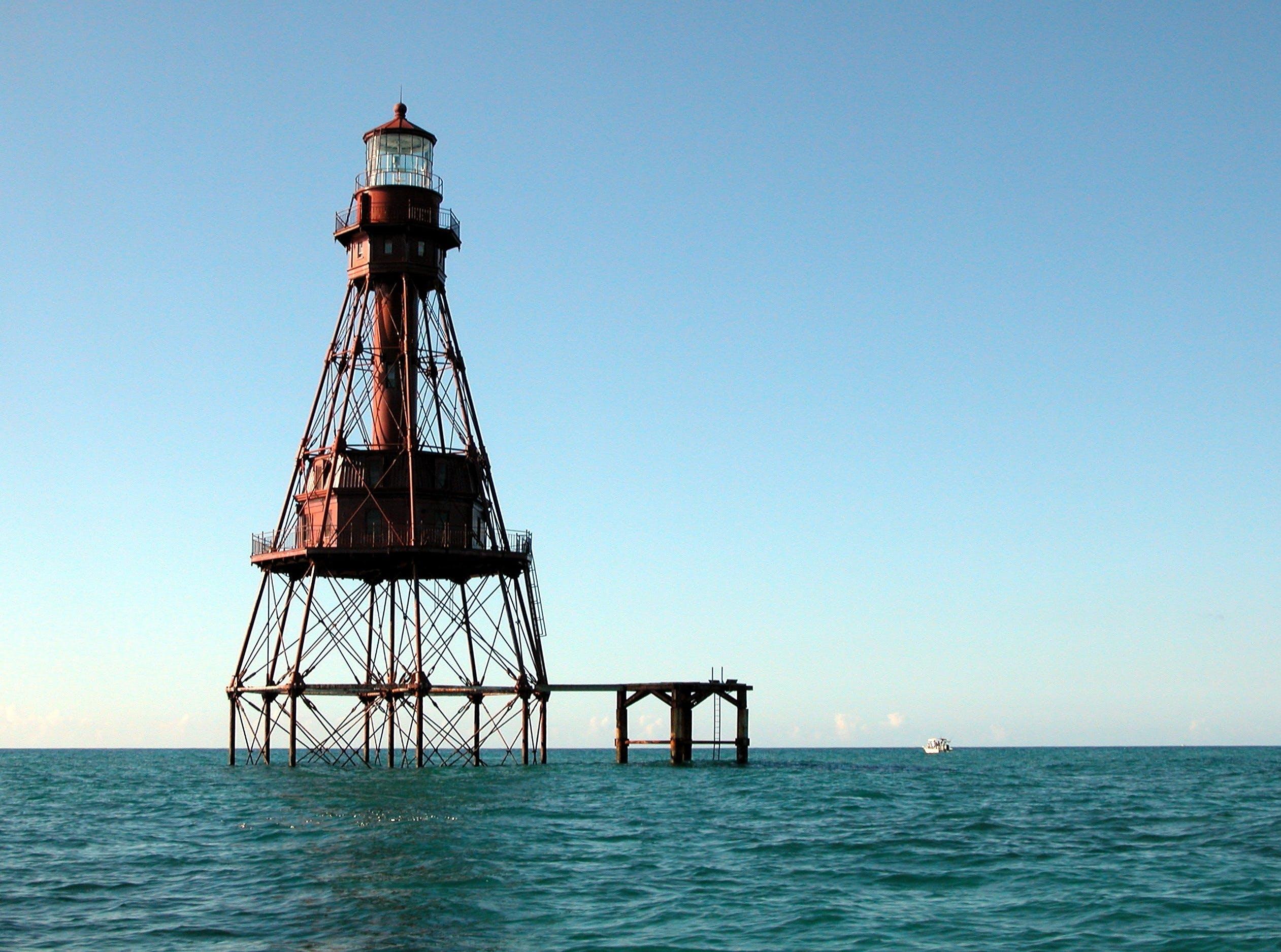 Lighthouse on Ocean