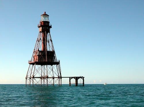 Fotos de stock gratuitas de agua, Faro, flotante, mar