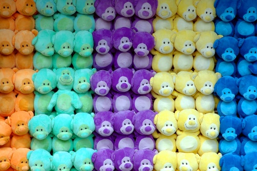 Pile of Plush Toy