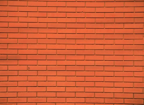 Orange Concrete Wall