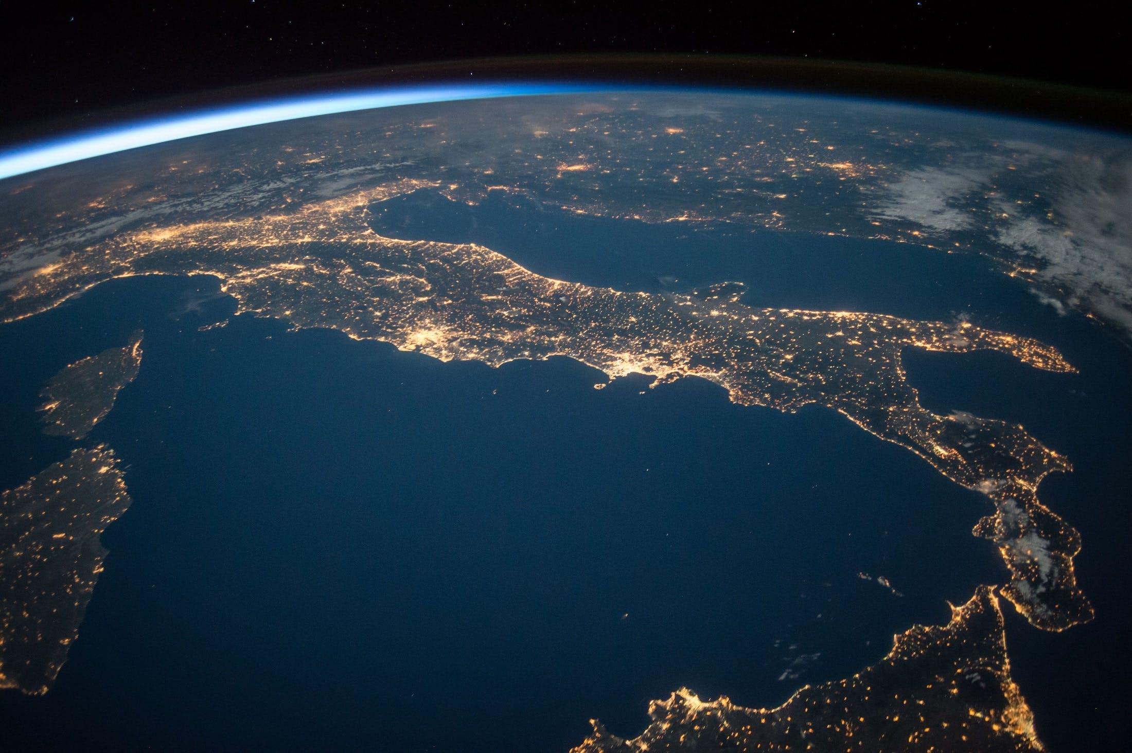Kostenloses Stock Foto zu astronomie, atmosphäre, beleuchtung, erde