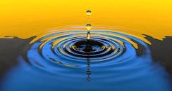 water, motion, circle