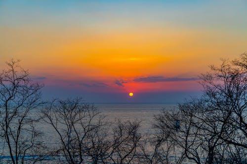 Foto d'estoc gratuïta de capvespre, mar, natura, oceà pacífic