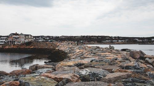 Gratis arkivbilde med by, hav, kyst, landskap