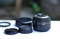 camera, dark, photography