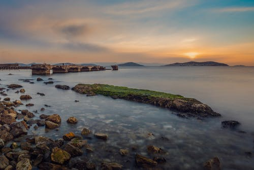 Kostenloses Stock Foto zu bucht, goldene stunde, goldener horizont, istanbul