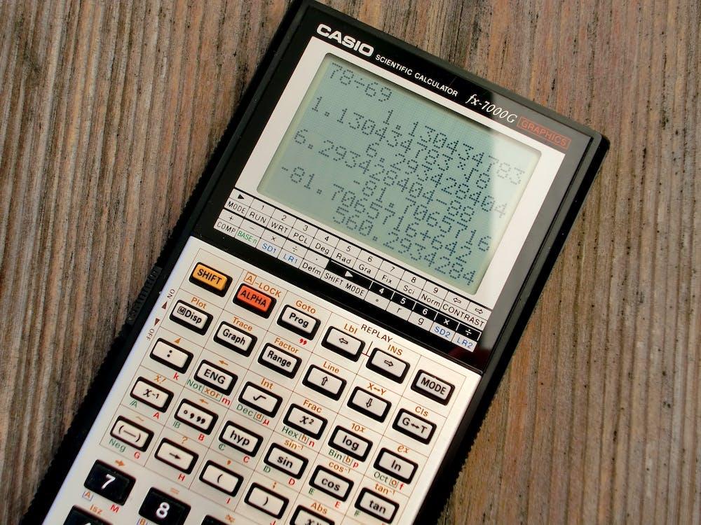 aprendendo, calculadora, calculadora científica