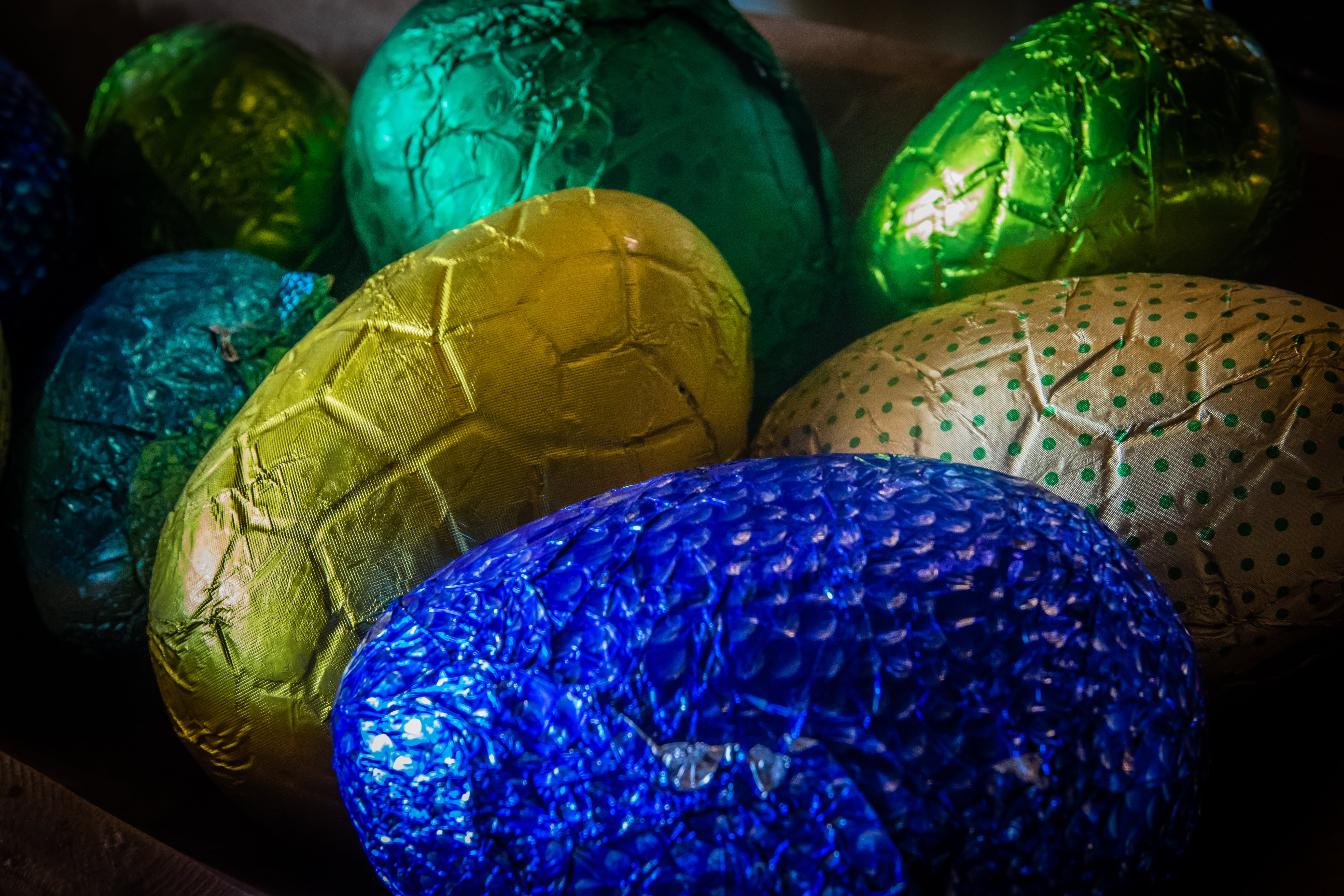 Free stock photo of children, colourful, easter, eggs
