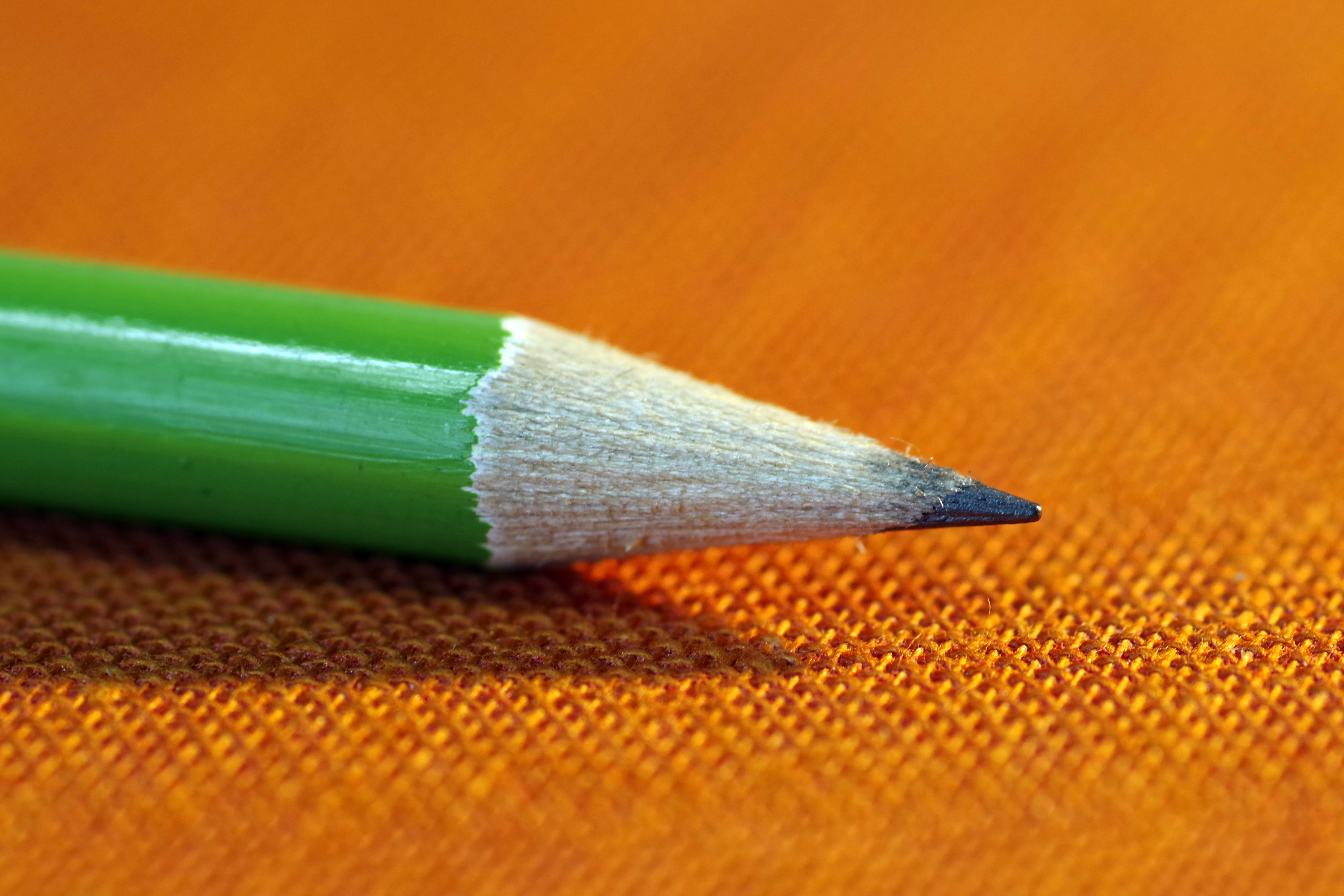 Free stock photo of office, pencil, school, green