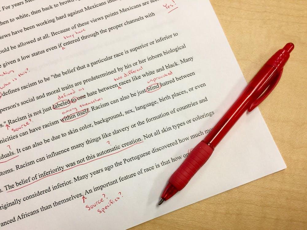 correcties, editen, educatie