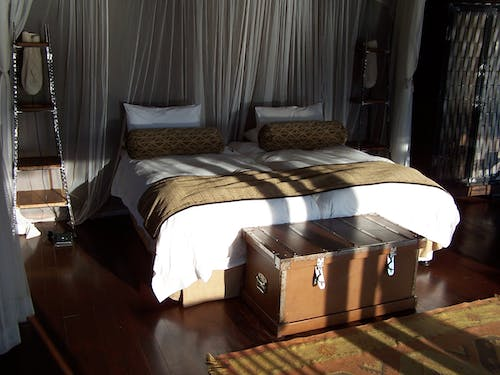Free stock photo of bed, lodge, south africa