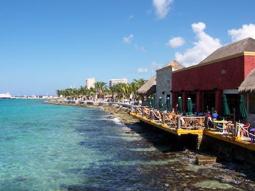 Free stock photo of Beach restaurant, holiday