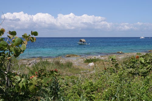 Free stock photo of beach, boat, ocean