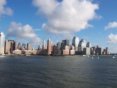 Free stock photo of city, ocean