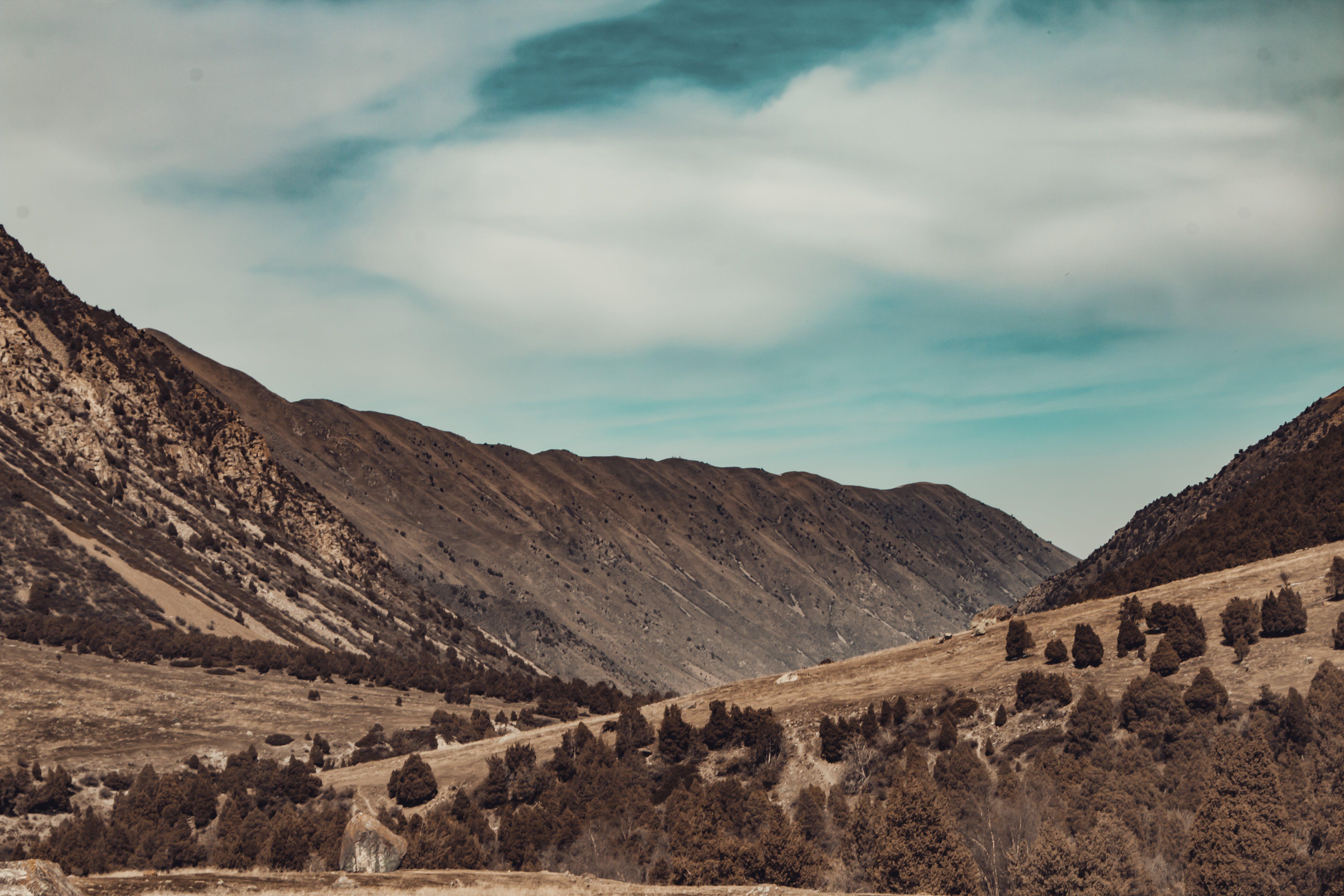 Free stock photo of hills