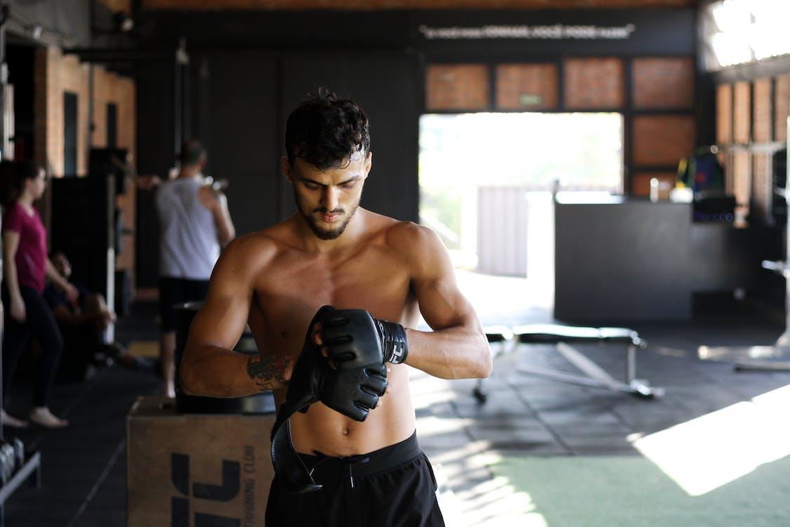 asu, fitness, hanskat