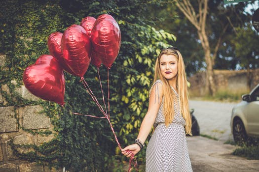 Free stock photo of fashion, person, red, love