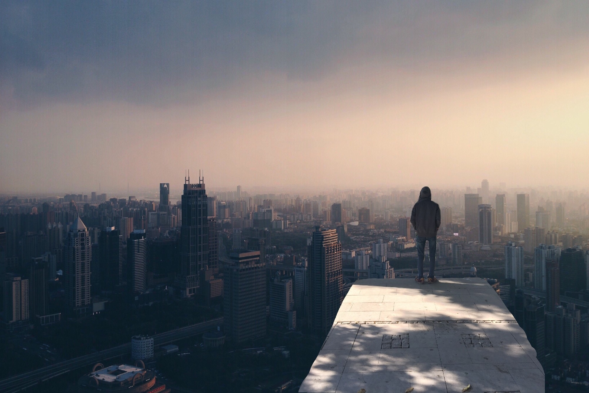 Free stock photo of city, man, person, weather