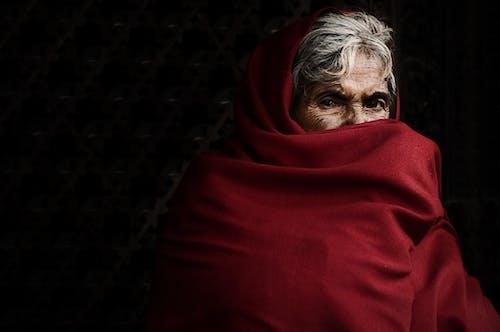 Imagine de stoc gratuită din bunică, eșarfă, femeie, îmbracă