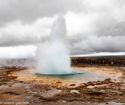 Free stock photo of geyser, hotsprings, iceland, natural