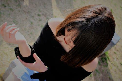 Foto d'estoc gratuïta de noia adolescent, noia bonica