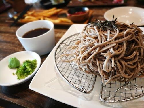 Foto stok gratis makanan Jepang, Mie, soba
