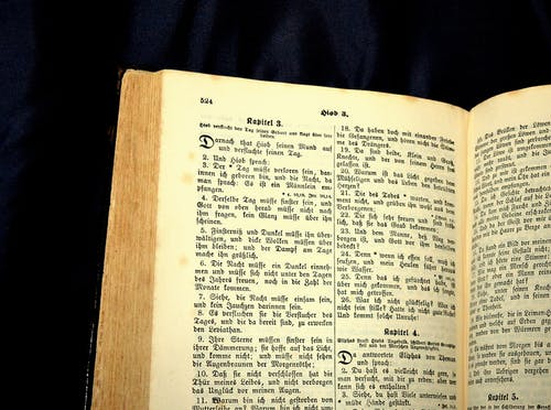 Bible Book Page