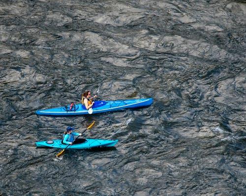 Fotobanka sbezplatnými fotkami na tému kajaky, rieka, voda
