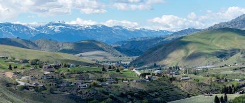 Fotobanka sbezplatnými fotkami na tému jar, panoráma, údolie