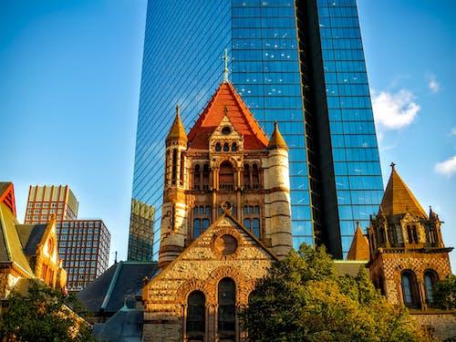 hdr, ガラス, シティ, タワーの無料の写真素材