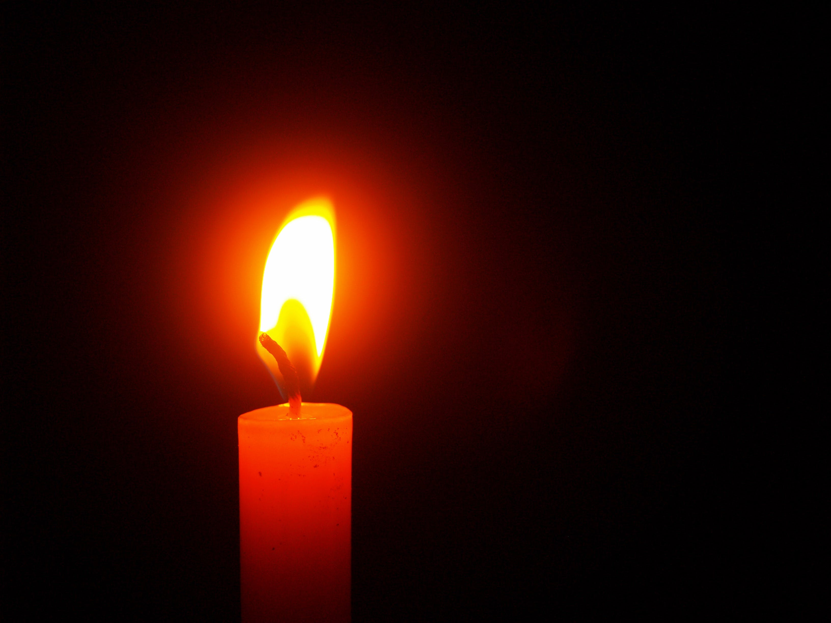 Red Lighted Candle