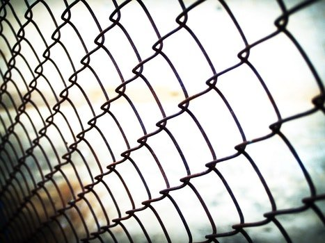 Free stock photo of metal, blur, fence, steel
