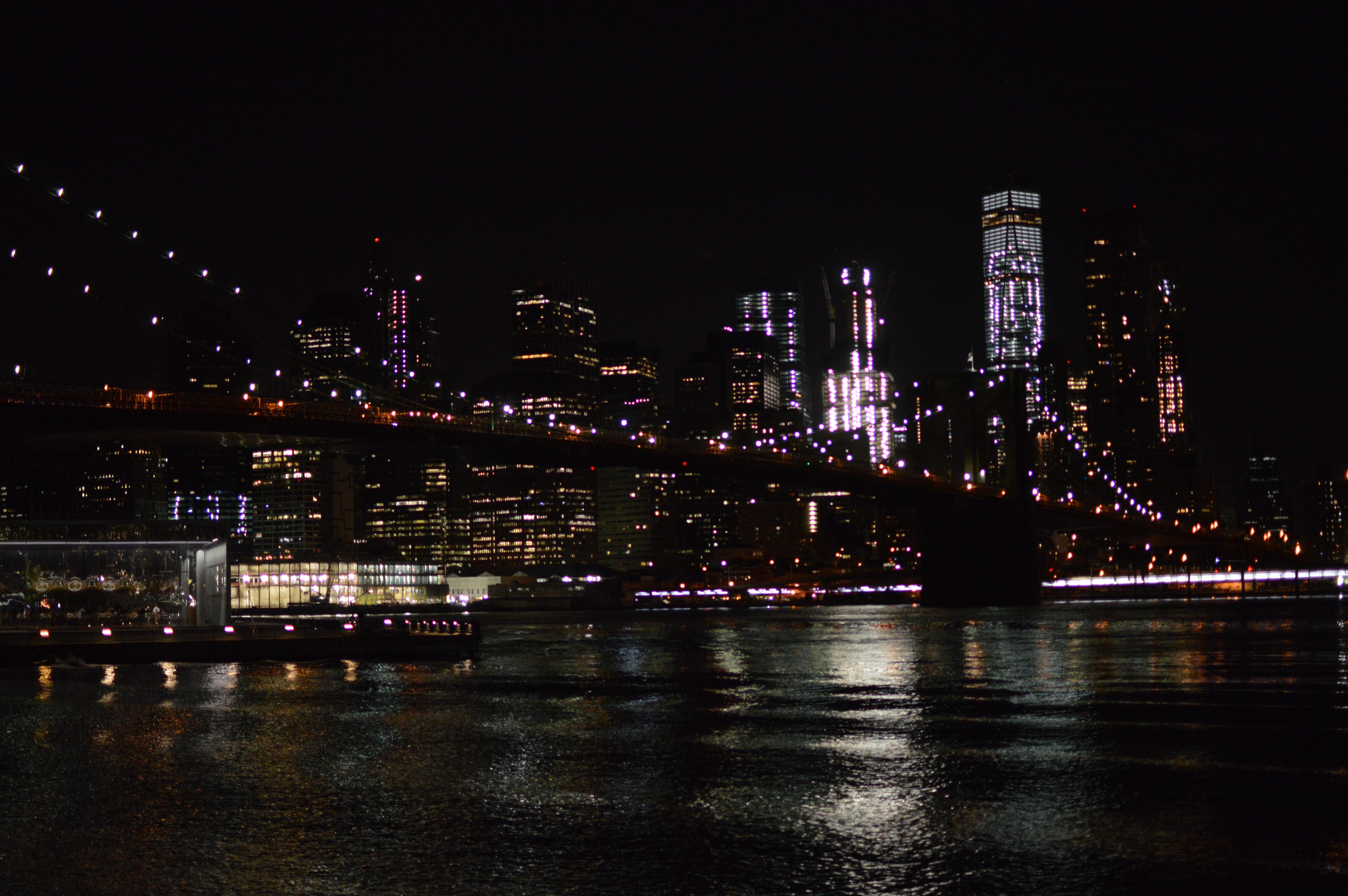Free Stock Photo Of At Night Nighttime New York City Nyc Lights