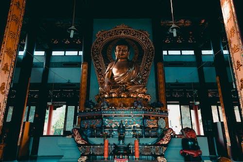 Ảnh lưu trữ miễn phí về ban ngày, bóng đèn, bức tượng, chùa phật