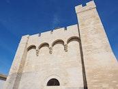 landmark, building, wall