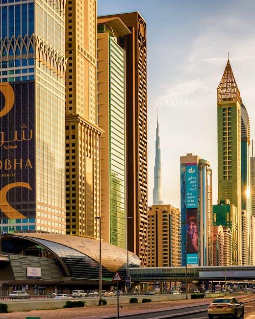 altın saat, benim dubai, Burj Khalifa, dubai içeren Ücretsiz stok fotoğraf