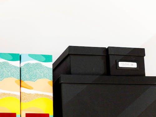 Imagine de stoc gratuită din aspect, carton, container, cutie neagră