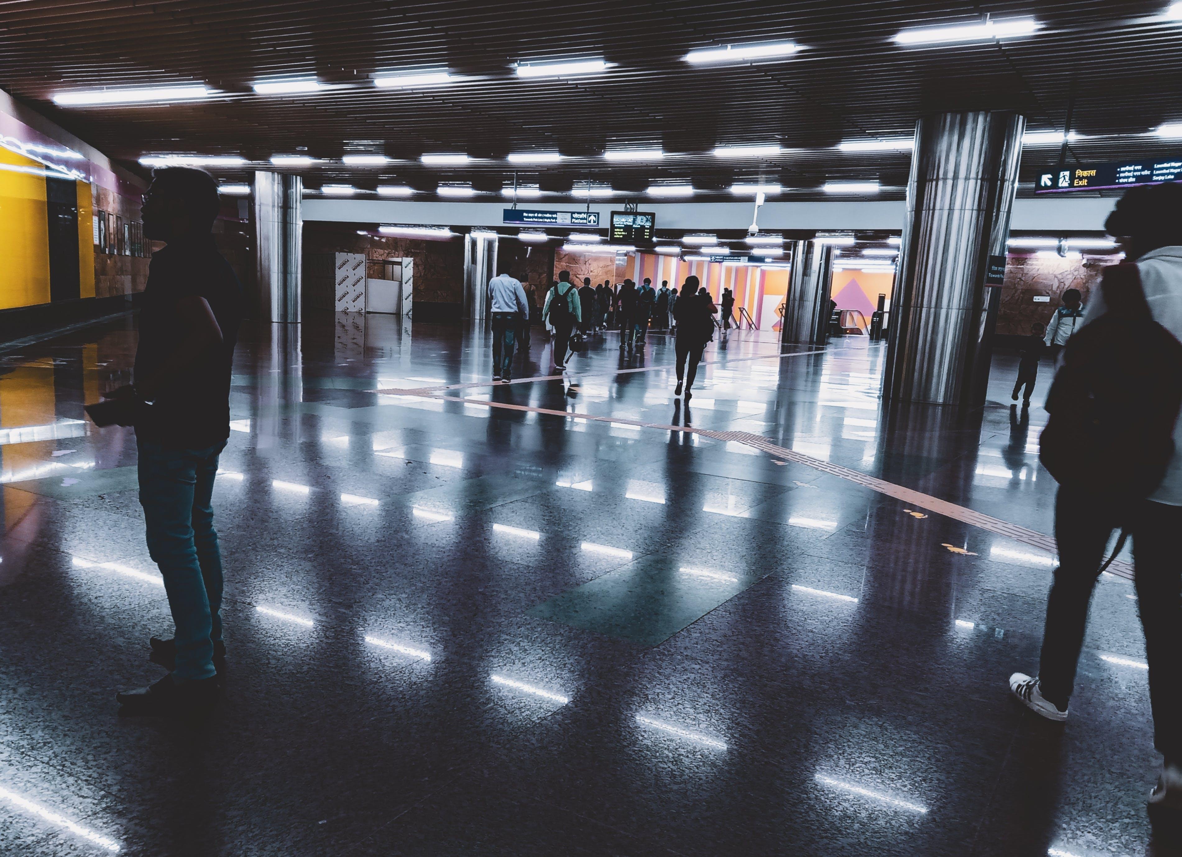 Základová fotografie zdarma na téma cestující, HD tapeta, hlavní nádraží, jdoucí lidé