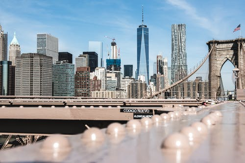 Gratis lagerfoto af arkitektur, bro, Brooklyn bridge, by