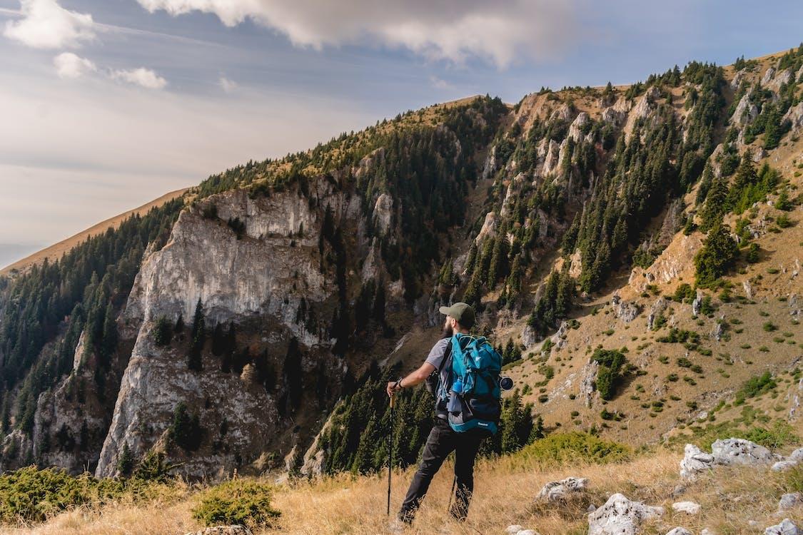 bjerg, bjergudsigt, bjergvandring