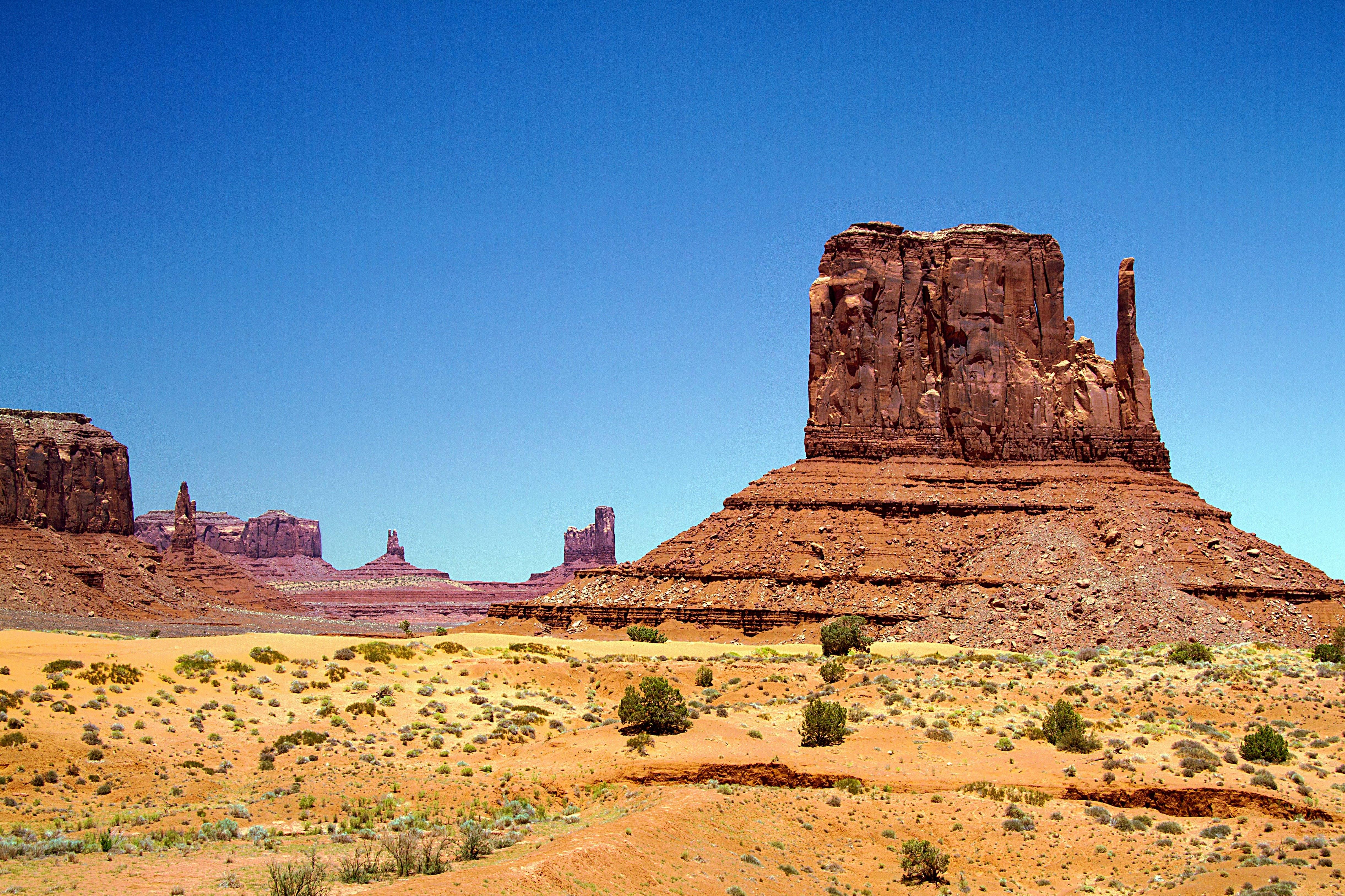 Kostenloses Stock Foto zu landschaft, natur, sand, wüste