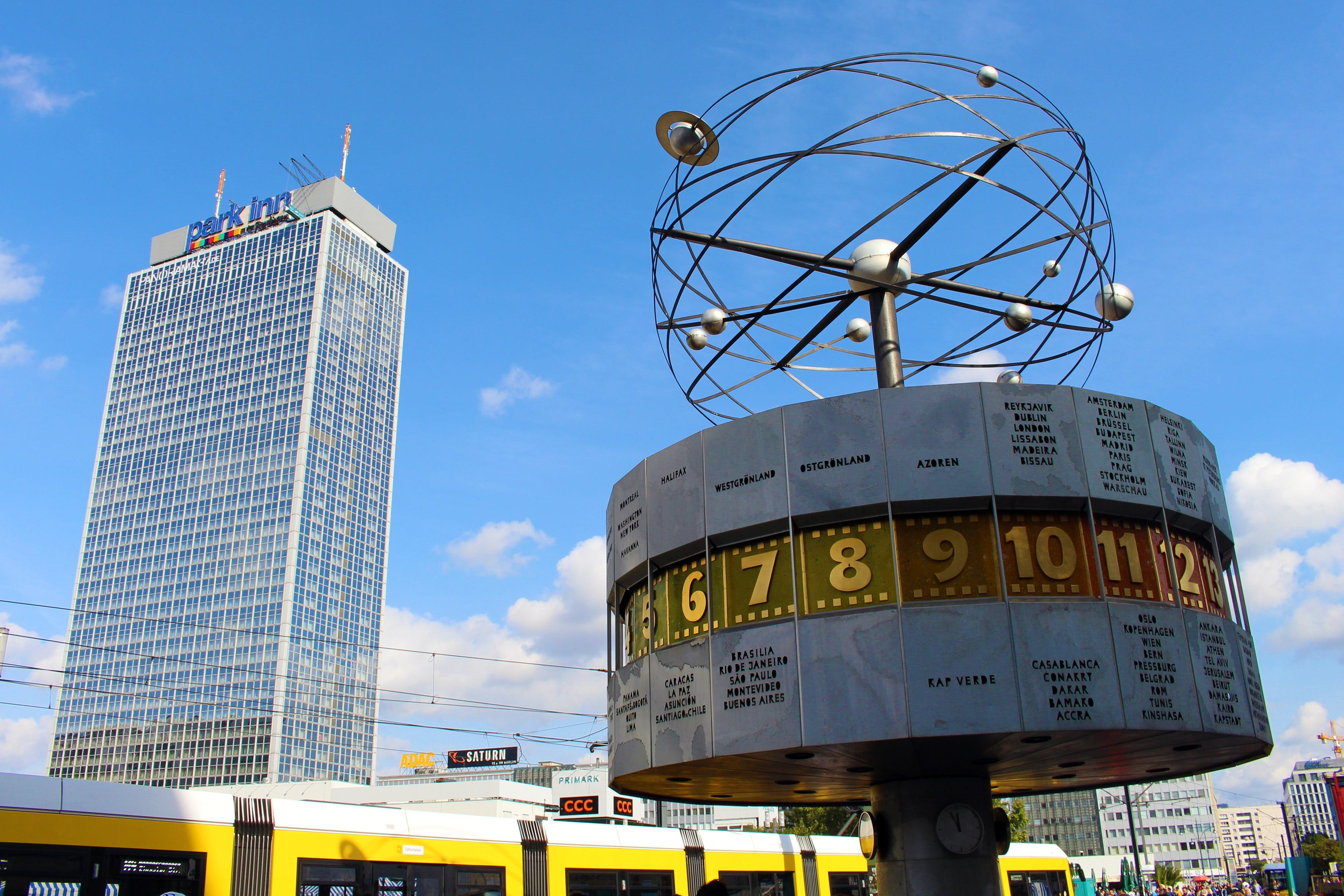 Alexanderplatz, architecture, berlin