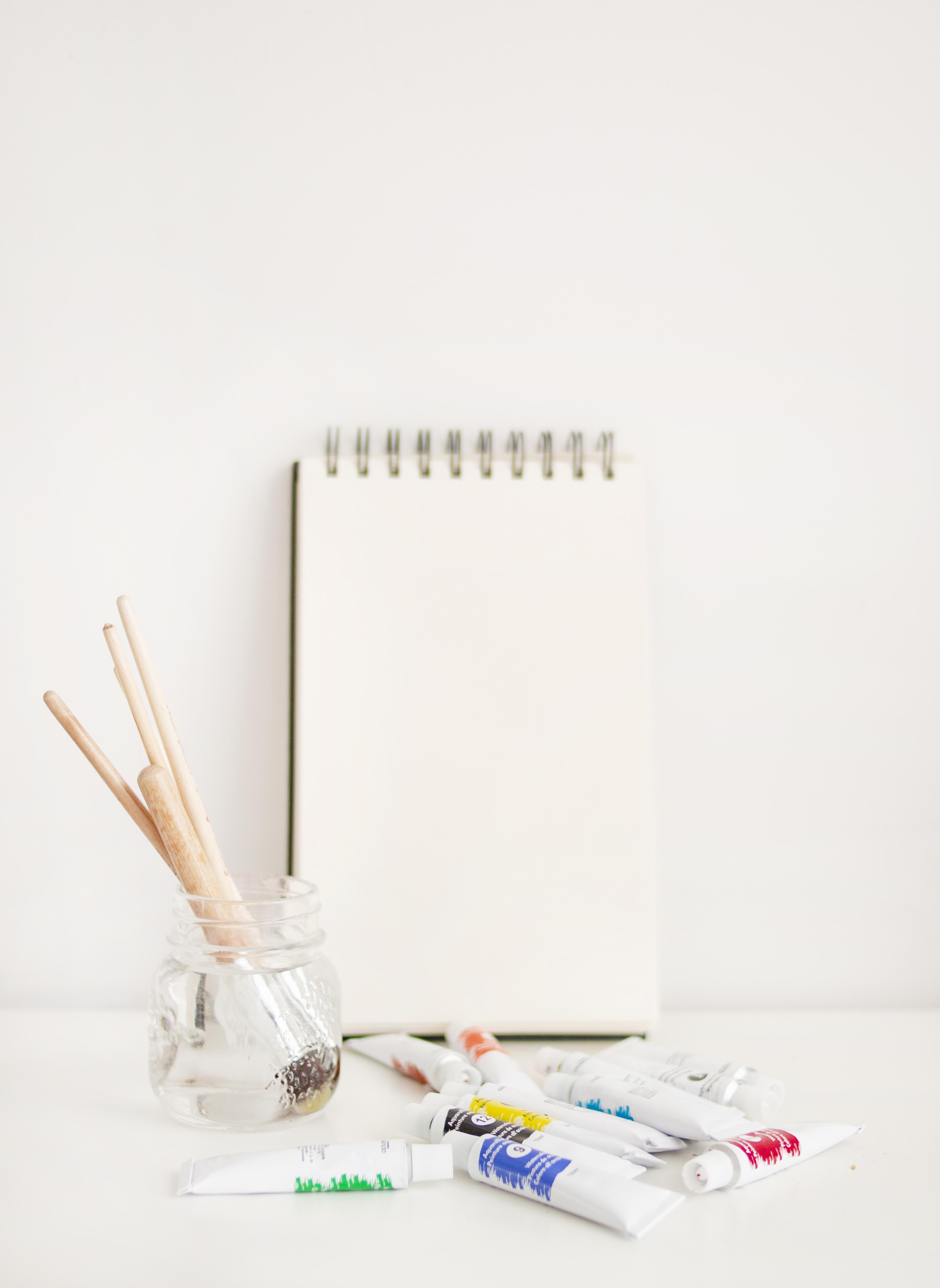 Empty Coloring Book
