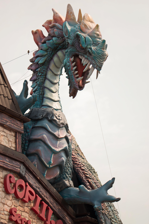 Free stock photo of amusement, amusement park, apocalypse, dragon