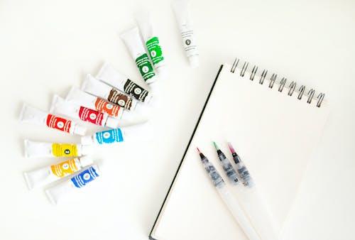 그림 물감, 다채로운, 미술 재료, 수채화 물감의 무료 스톡 사진
