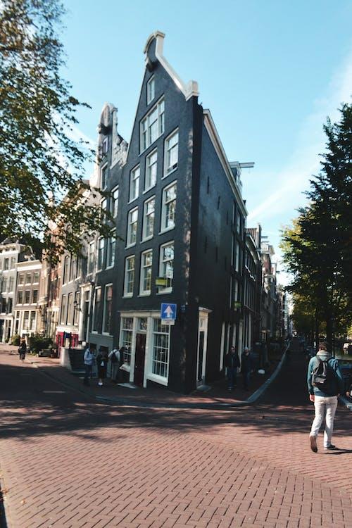 Photos gratuites de amsterdam, bâtiment, bâtiment d'angle, centre-ville